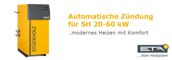 Automatische Zündung für SH 20-60 kW