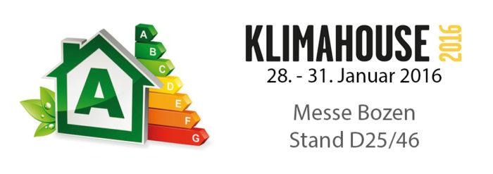 Messe Klimahouse 2016