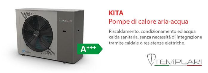 KITA: pompe di calore aria-acqua